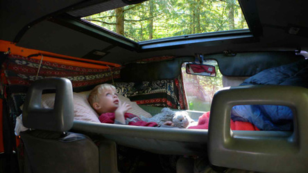 Zen Adventure Van Modifications Bed