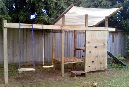 Free Diy Play Structure Plans