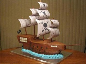 How Do You Make A Pirate Ship Birthday Cake