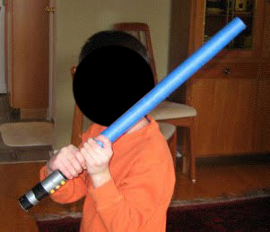 Zen Kid Star Wars Party Light Sabers Page