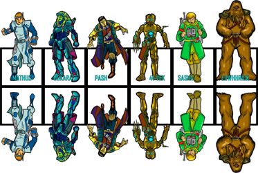 image regarding Printable Paper Miniatures known as Zen Star Wars Paper Miniatures