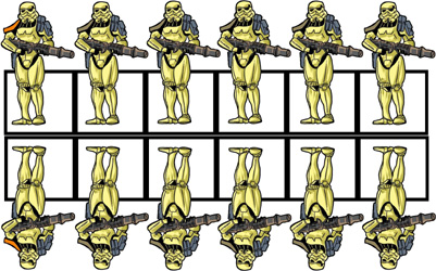 picture about Printable Paper Miniatures titled Zen Star Wars Paper Miniatures