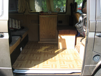 Zen Adventure Previa Campers Page Floor