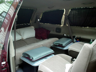 Campers For Sale Ontario >> Zen Adventure Previa Campers - Bed Page