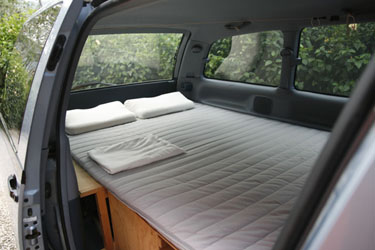 Zen Adventure Previa Campers Bed Page