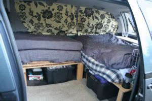 Zen Adventure Previa Campers Page Curtains