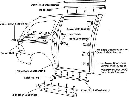 sliding door parts: gmc safari sliding door parts 2002 gmc envoy door diagram gmc slide door diagrams