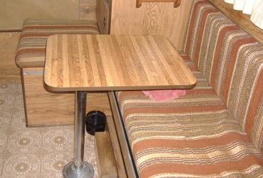 Zen Adventure Van Modifications - Van Table